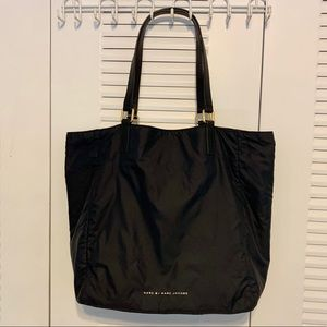 Marc by Marc Jacobs Large Black Nylon Tote Handbag